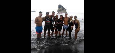 Varios de los triatletas élites de Santander siguen esperando el apoyo del Indersantander.