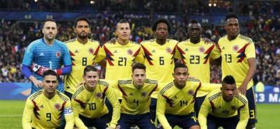 Selección Colombia cayó tres puestos en el ranking de la Fifa