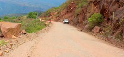 De los 5.7 kilómetros sin pavimentar de la carretera entre Girón y Zapatoca, 4.4 kilómetros serán intervenidos.