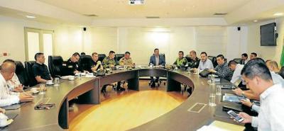 Ayer se realizó un consejo de seguridad en Barrancabermeja.