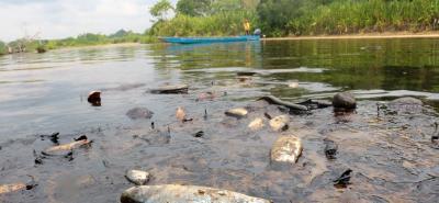El afloramiento de crudo, lodo y gas presentado el pasado 12 de marzo a 220 metros del pozo Lisama 158, contaminó las quebradas Caño Muerto, La Lizama y el río Sogamoso.