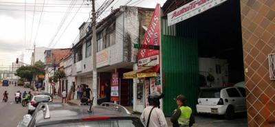 Balacera en Bucaramanga dejó a una persona herida