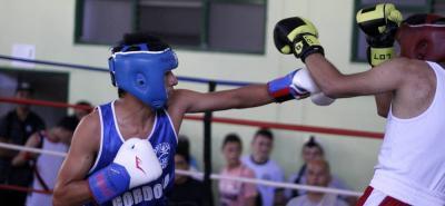 Buenas peleas se cumplieron ayer en el coliseo Edmundo Luna Santos con motivo del Festival de Box - La era de los nuevos campeones.