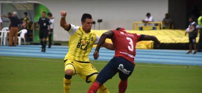 Alianza Petrolera e Independiente Medellín igualaron ayer 2-2 en Barrancabermeja, en compromiso correspondiente a la fecha 15 de la Liga Águila I de 2018. Los 'aurinegros' siguen lejos de los ocho mejores, mientras que los 'rojos' se acercaron a la clasificación a la siguiente fase del campeonato.