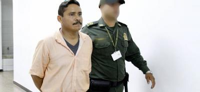 Freddy Mendoza Olmos, oriundo de Sabana de Torres, Santander, aceptó los cargos imputados por la Fiscalía.