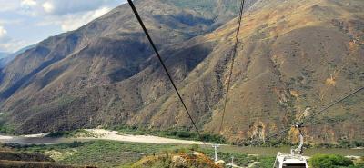 El cable aéreo volverá a operar en su horario habitual a partir del sábado 28 de abril.