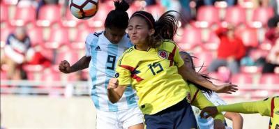La selección Colombia no pudo mantener la ventaja ante Argentina y terminó perdiendo 3-1 en la primera fecha del cuadrangular final de la Copa América Femenina - Chile 2018.