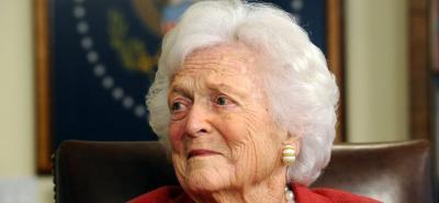 Murió la ex primera dama de EEUU, Barbara Bush, a los 92 años