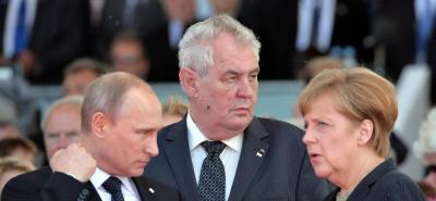 Alemania y Rusia apuestan a impulsar proceso político en Siria
