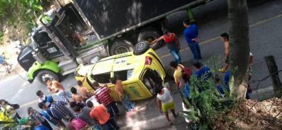 Al menos un herido dejó accidente de tránsito en el Norte de Bucaramanga