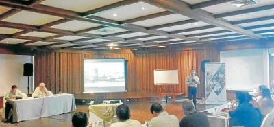 Los directivos de Fedepalma estuvieron en Bucaramanga en la reunión gremial de palmicultores de la Zona Central, que reúne a productores de Santander, sur del Cesar y sur de Bolívar.
