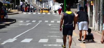 Los habitantes del municipio podrán hacer sus diligencias a pie, aunque las autoridades resaltan que el servicio de transporte público estará habilitado durante la jornada.