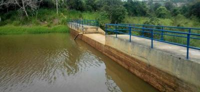 Lo ideal es que la represa Piedras Negras, localizada en el sector del Pantano, esté completamente llena, pero las lluvias no han sido suficientes para lograr la meta.