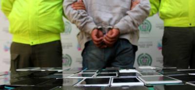 Cae en Bucaramanga presunto integrante de red trasnacional derobo de celulares