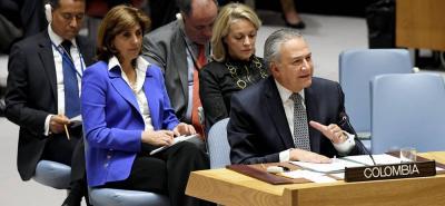 """El Vicepresidente de Colombia insistió en que el Gobierno está dando pasos para asegurar que el futuro Ejecutivo encuentre """"una hoja de ruta sólida"""" que haga que la paz sea irreversible."""