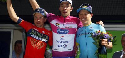 El francés Thibaut Pinot logró el título del Tour de los Alpes, luego de cinco exigentes etapas. El italiano Domenico Pozzovivo finalizó segundo y el colombiano Miguel Ángel López fue tercero.