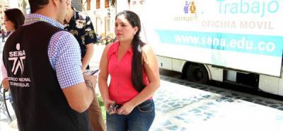 Todos los colombianos interesados en que una de estas cuatro oficinas visite el municipio o zona donde habiten pueden realizar la solicitud a través de los canales del Sena.