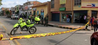 Reportan balacera en Bucaramanga tras intento de atraco