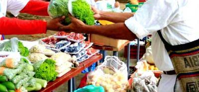 60 productores ya hay confirmados para participar en el primer Mercado Campesino y, con la unión de fuerzas con Inderpiedecuesta, buscan que la comercialización sea un éxito.