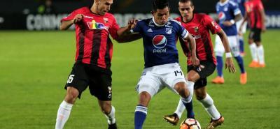 Millonarios, que venció 4-0 al Deportivo Lara en El Campín, ahora repetirá el duelo de Copa Libertadores pero en Venezuela.