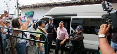 El exalcalde Luis Francisco Bohórquez, quien se encuentra recluido en la cárcel de San Gil, no asistirá a la audiencia de acusación en su contra.