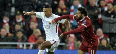 Liverpool y Roma se enfrentaron en Inglaterra por la ida de las semifinales de la Liga de Campeones