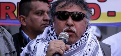 Tras 15 días en huelga de hambre, 'Jesús Santrich' se mantiene bien de salud