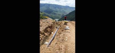 Desde hace dos meses, la construcción del acueducto para Los Santos permanece estancada.