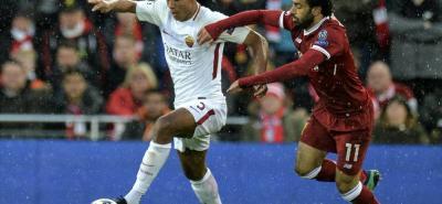 Mohamed Salah fue la figura del Liverpool en la victoria 5-2 sobre la Roma en el partido de ida de las semifinales de la Liga de Campeones. El egipcio terminó con 2 goles y 2 asistencias.