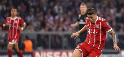 James Rodríguez perdió el primer duelo contra el Real Madrid