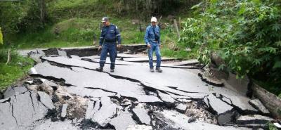 Se agrava emergencia por movimiento en masa en el municipio de Enciso, Santander