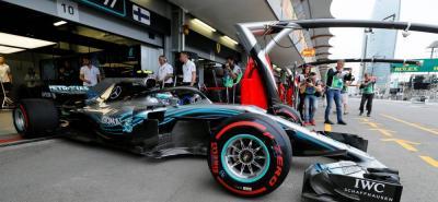 Hamilton se quedó con el Gran Premio de Azerbaiyán