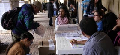 Desde mañana, jueves, inicia el proceso de selección de jurados  de votación en los demás municipios del país, para las elecciones presidenciales del próximo 27 de mayo.