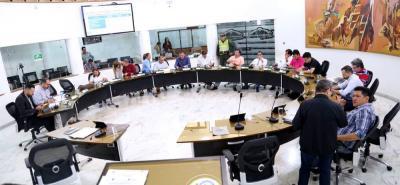 Por segunda ocasión en 2018, el Concejo de Bucaramanga hará sesiones extraordinarias, esta vez para estudiar siete proyectos radicados por la Alcaldía.