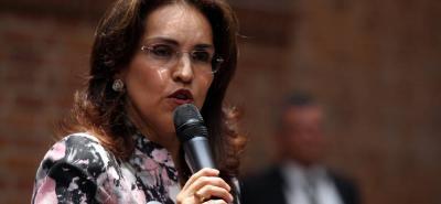 A principio de abril pasado Piedad Córdoba había desistido de su candidatura presidencial, con lo que Morales era la única mujer que se mantenía en carrera a la Casa de Nariño.
