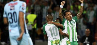 El goleador de Atlético Nacional es Dayro Moreno, quien acumula 6 tantos. La idea es aumentar la cuota anotadora en finales para pelear por la distinción individual.