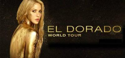 Shakira se presentará el 3 de noviembre en Bogotá.