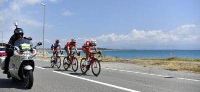 Sam Bennett se impuso en la séptima etapa del Giro de Italia