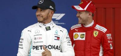 Hamilton se quedó con la 'pole' en el gran premio de España