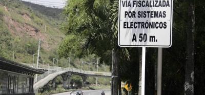 Invías confirmó que el Municipio es el único responsable de los dispositivos fijos que están en el Anillo Vial y autopista Piedecuesta - Bucaramanga.