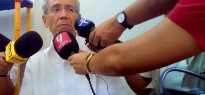 Ayer el presidente de la Comisión para el Esclarecimiento de la Verdad, la Convivencia y la No Repetición, Francisco de Roux, visitó Barrancabermeja.