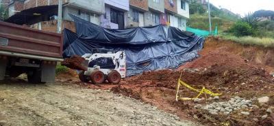 En diciembre pasado, 12 viviendas resultaron afectadas por socavación del terreno tras excavaciones hechas por un particular.
