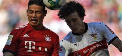 Con este video la Bundesliga exalta la temporada del colombiano James Rodríguez