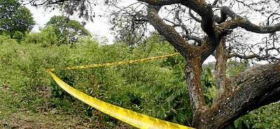 En una zona aledaña a donde fue hallado muerto un líder social en enero ocurrió este nuevo crimen en el sur de Bolívar.