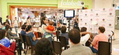 La apertura de la segunda edición de Expo Mamá 2018, el pasado viernes 18 de mayo, estuvo a cargo de AME Colombia con una charla sobre primeros auxilios.