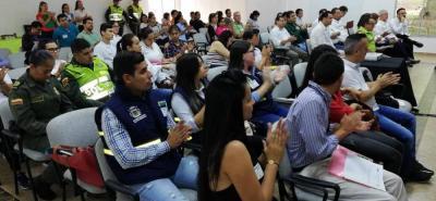 En la jornada también estuvieron los representantes del Comité Interinstitucional de Educación Ambiental (Cidea).
