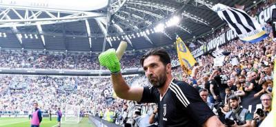 Buffon se despide de Juventus con un triunfo 2-1 contra el Verona