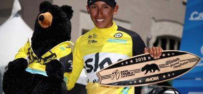 Egan Arley Bernal Gómez, con 21 años y cuatro meses, se convirtió ayer en el colombiano más joven en conseguir un título del World Tour, al coronarse campeón del XIII Tour de California.