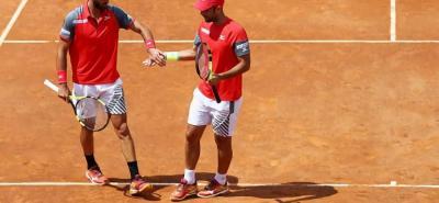 La dupla colombiana conformada por Juan Sebastián Cabal y Robert Farah se clasificó ayer para disputar la final del Masters 1.000 de Roma, torneo en el que buscarán su primer título del año.