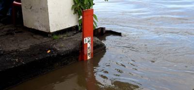 Esta es la regla que sirve de guía a las autoridades en Barrancabermeja para monitorear el río Magdalena en el casco urbano del municipio.
